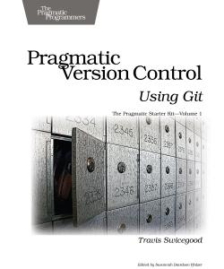 Cover Image For Pragmatic Version Control Using Git…