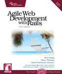 Cover Image For Agile Web Development with Rails...