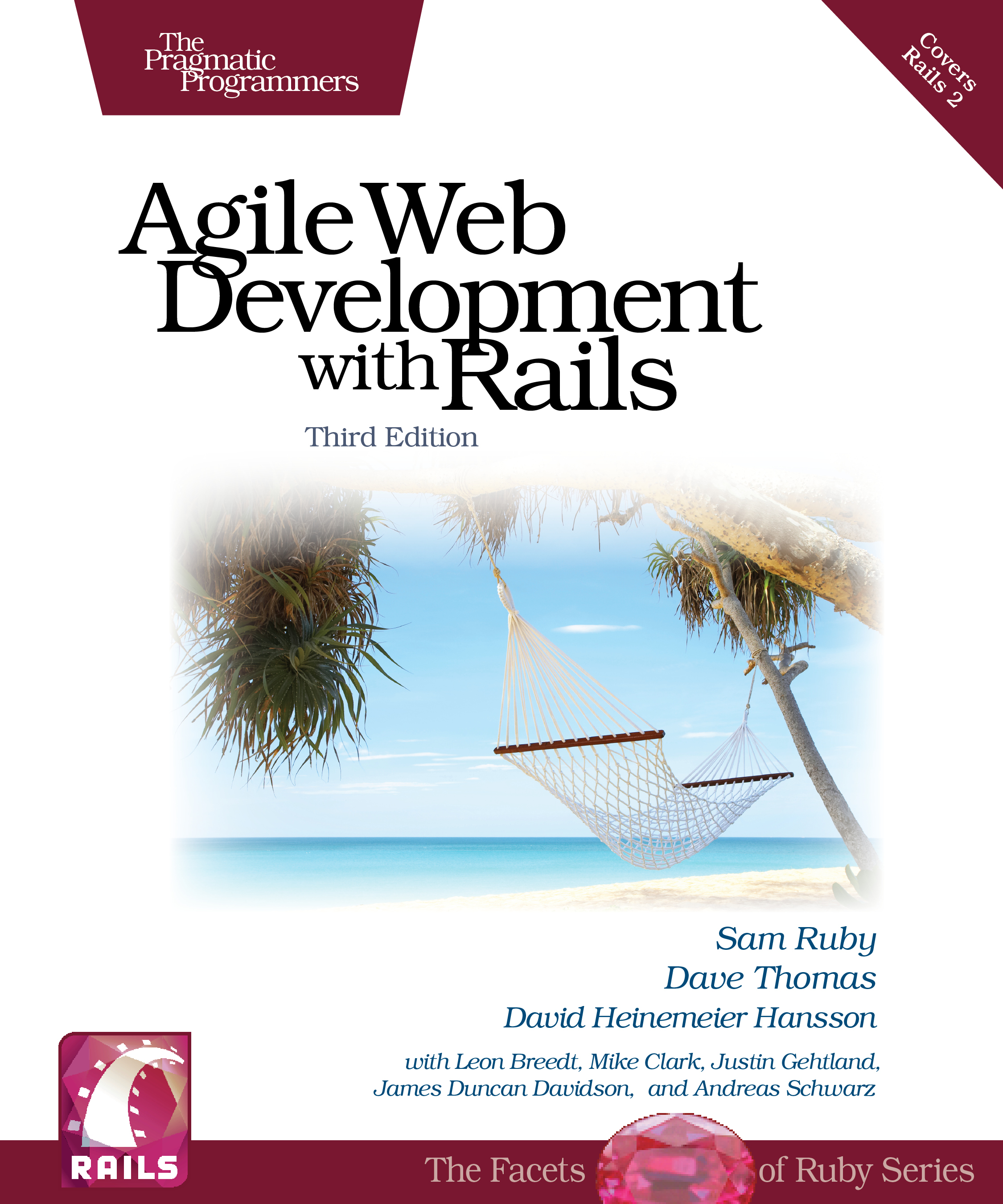 Cover Image For Agile Web Development with Rails…