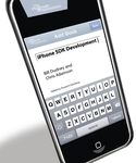 Cover Image For iPhone SDK Development...