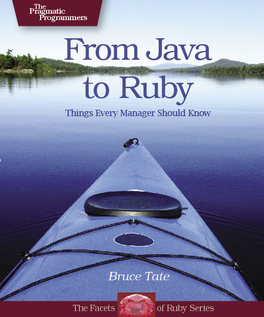 Cover Image For From Java To Ruby...
