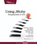Cover Image For Using JRuby…