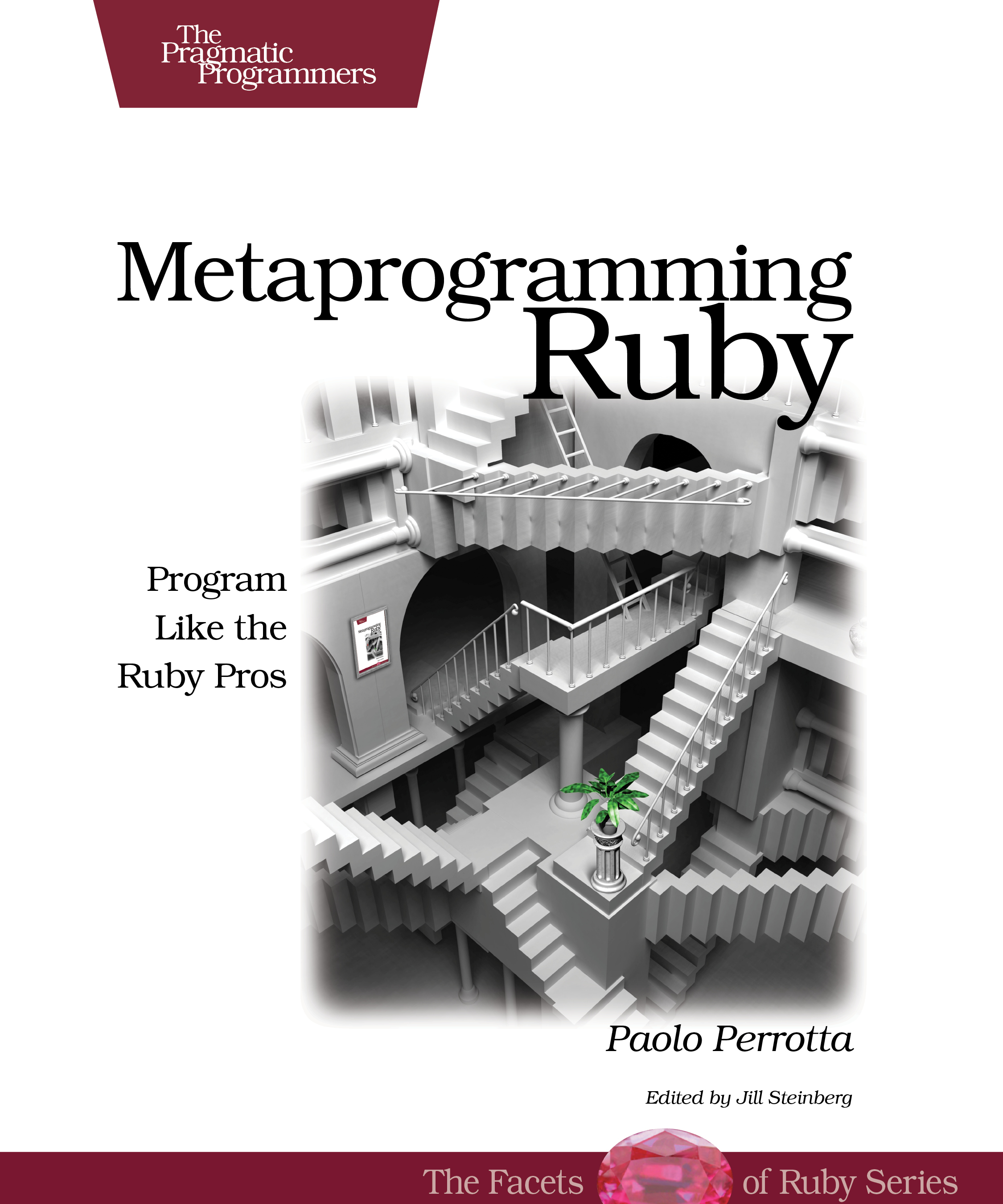 Cover Image For Metaprogramming Ruby...