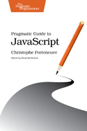 Cover Image For Pragmatic Guide to JavaScript…