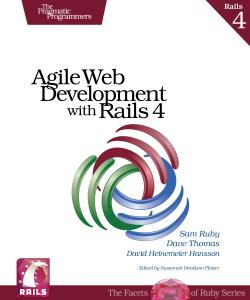 Cover Image For Agile Web Development with Rails 4...