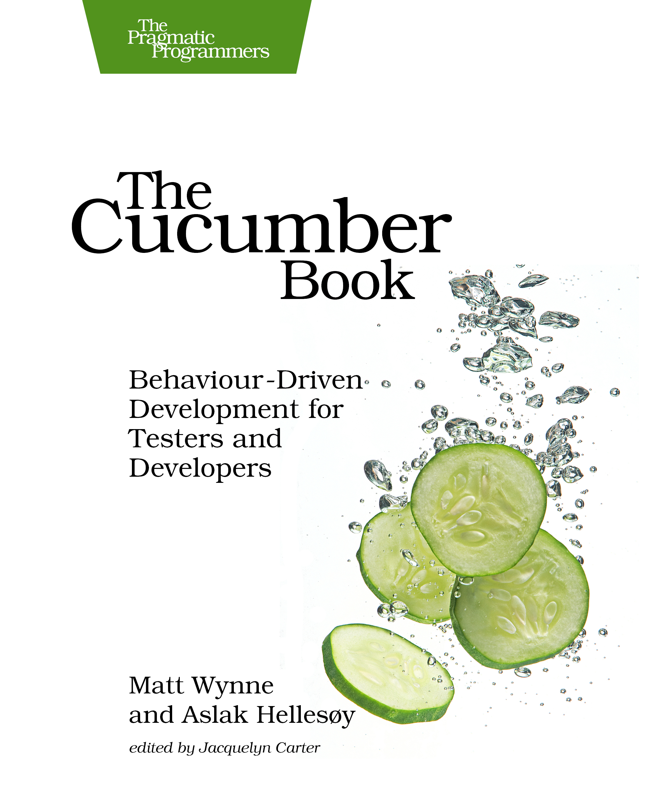 Cover Image For The Cucumber Book…