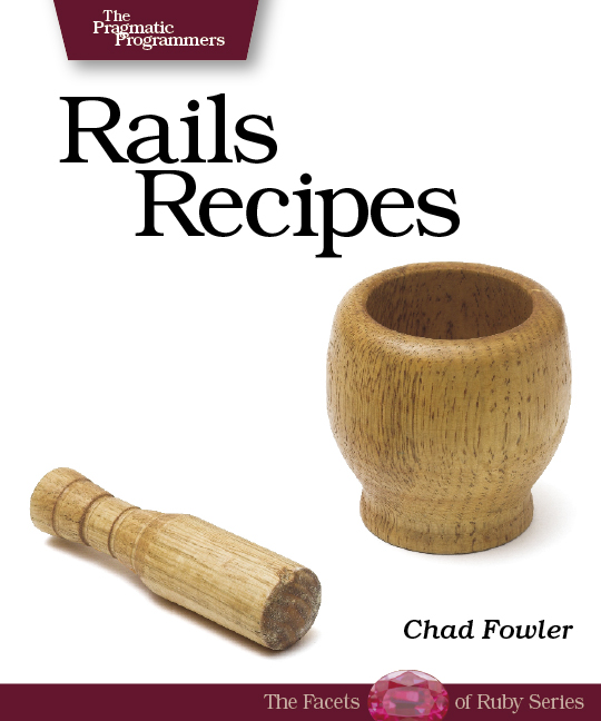 Cover image for Rails Recipes
