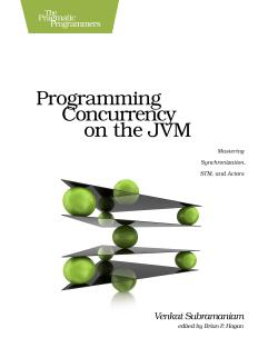 Cover Image For Programming Concurrency on the JVM…