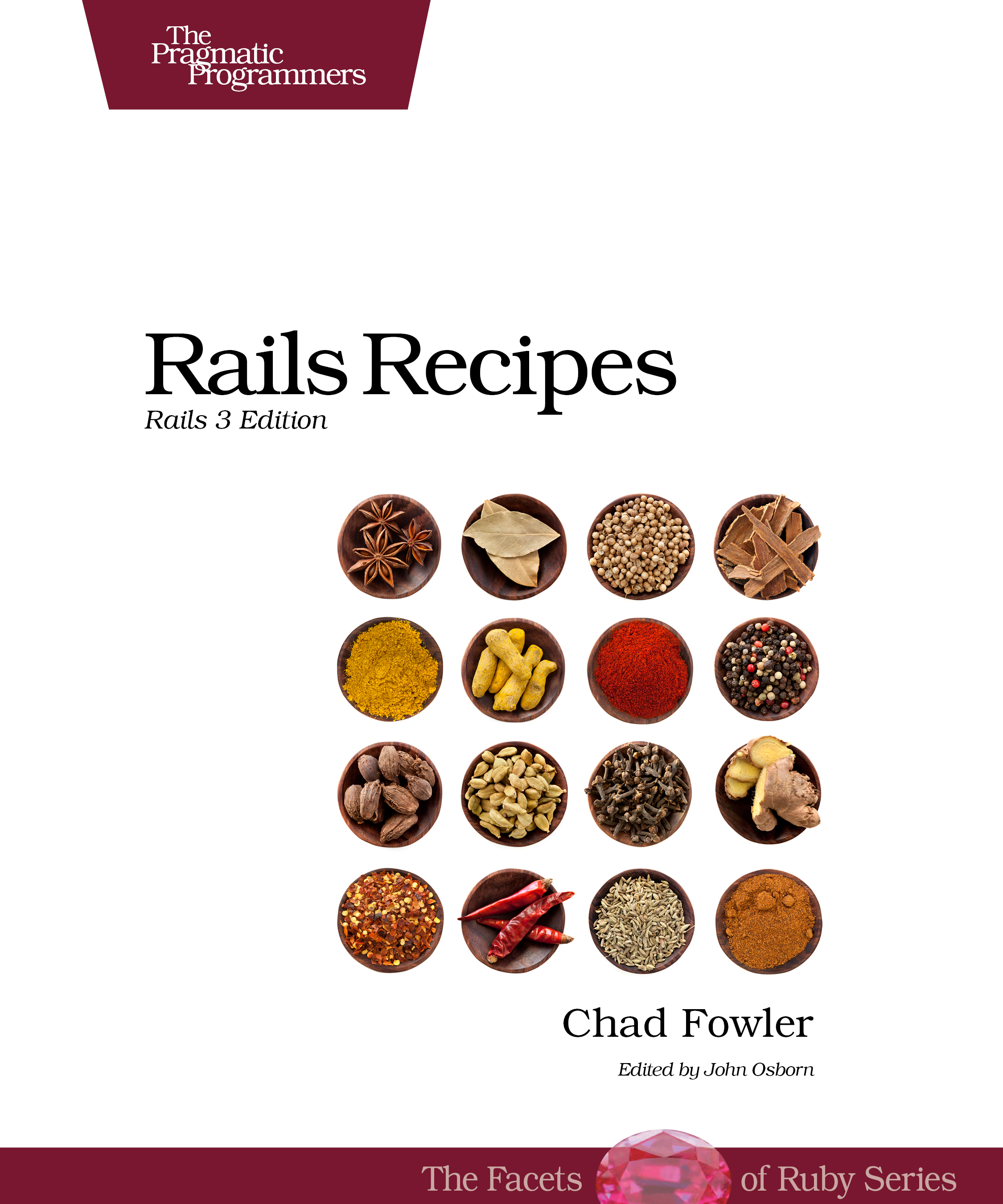 Cover Image For Rails Recipes...