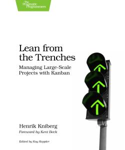 Cover image for Lean from the Trenches