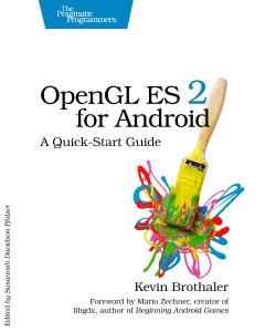 Cover Image For OpenGL ES 2 for Android…