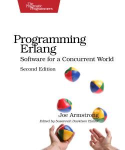 Cover image for Programming Erlang