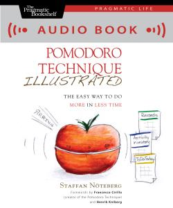 Cover Image For Pomodoro Technique Illustrated (audio book)…