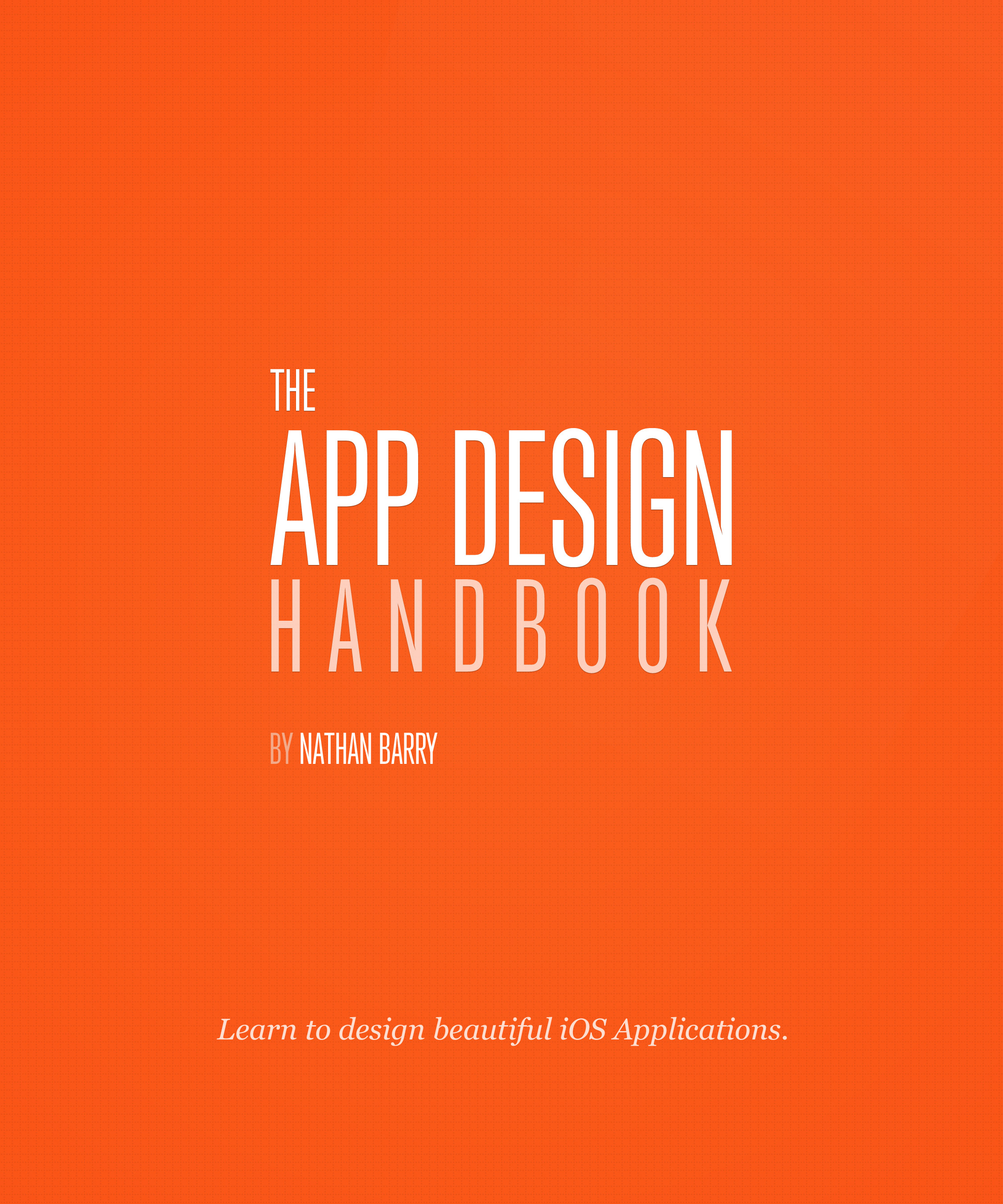 Cover image for The App Design Handbook