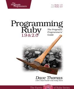 Cover Image For Programming Ruby 1.9 & 2.0...