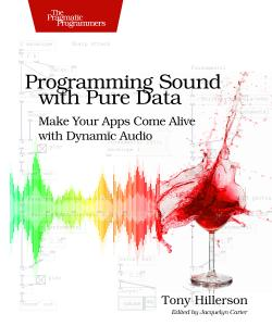 Cover Image For Programming Sound with Pure Data…