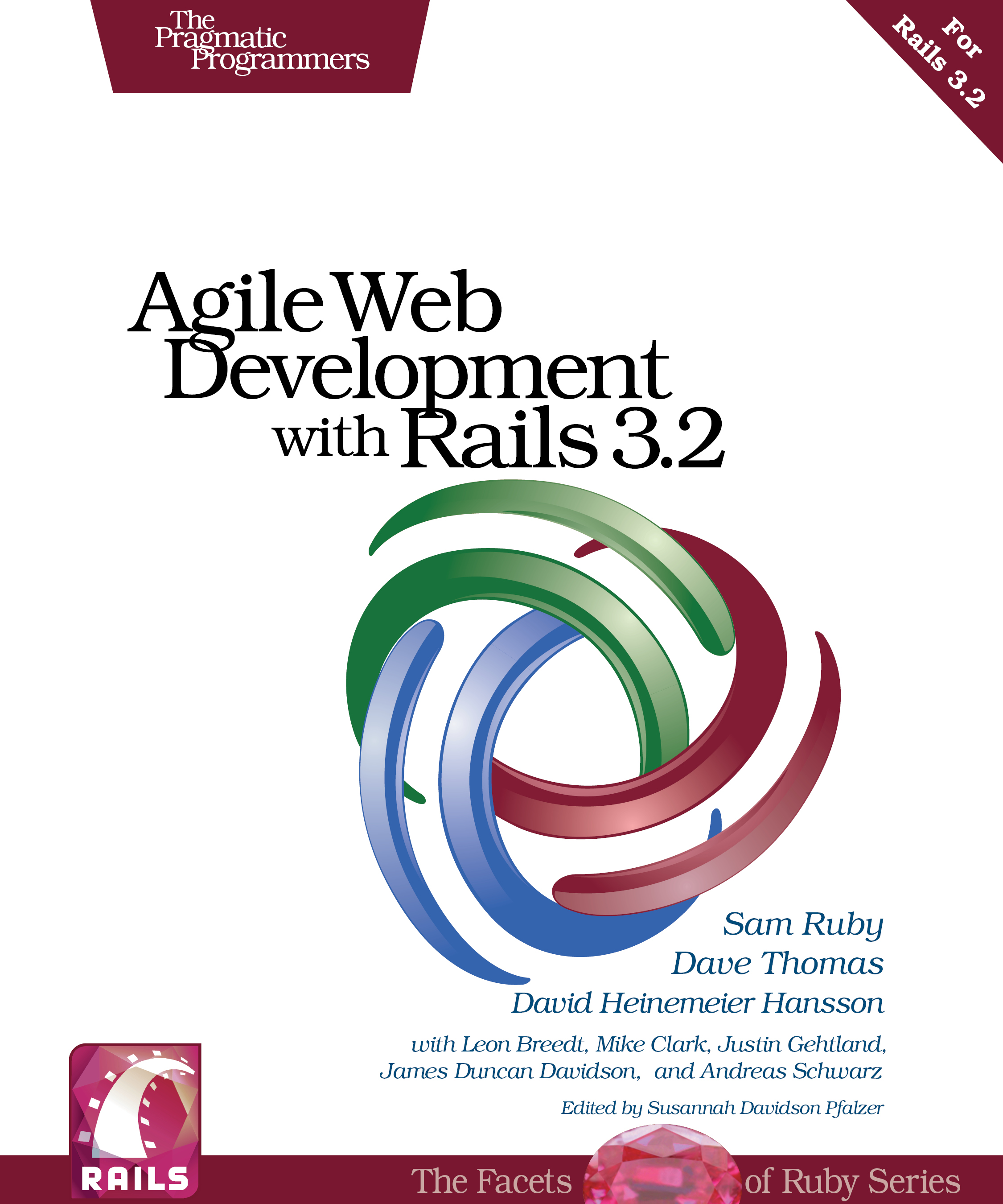 Cover Image For Agile Web Development with Rails 3.2...
