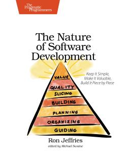 Cover image for The Nature of Software Development