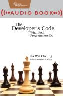Cover Image For The Developer's Code (audio book)…