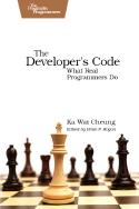 Cover Image For The Developer's Code (audio book)...