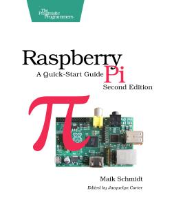 Cover Image For Raspberry Pi: A Quick-Start Guide...