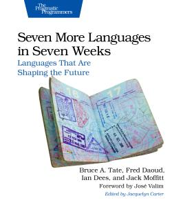 Cover Image For Seven More Languages in Seven Weeks…