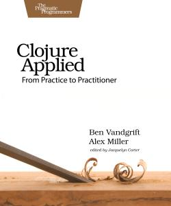 Cover Image For Clojure Applied...