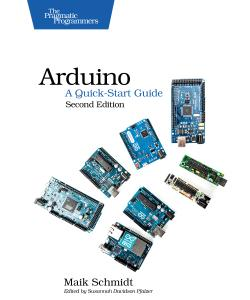 Cover Image For Arduino: A Quick-Start Guide, Second Edition…
