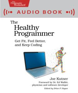Cover image for The Healthy Programmer (audio book)