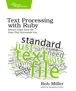 Cover Image For Text Processing with Ruby...