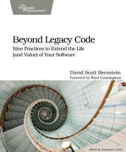 Cover Image For Beyond Legacy Code...