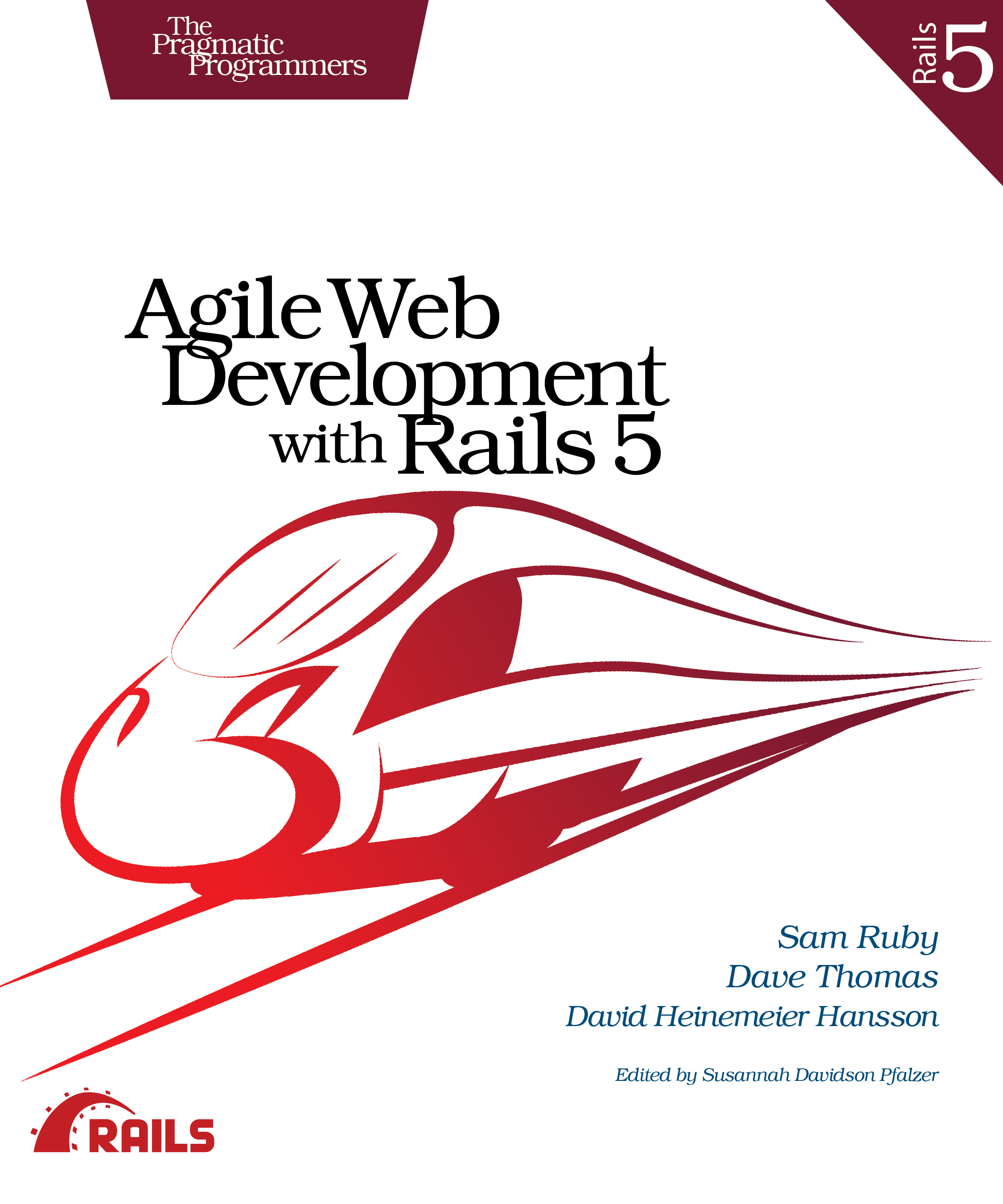Cover image for Agile Web Development with Rails 5