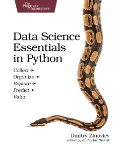 Cover image for Data Science Essentials in Python