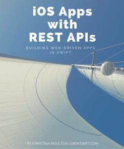 Cover Image For iOS Apps with REST APIs…