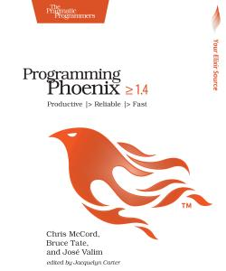 Cover image for Programming Phoenix 1.4