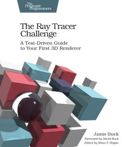 Cover Image For The Ray Tracer Challenge…