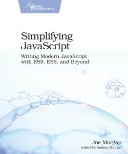 Cover image for Simplifying JavaScript