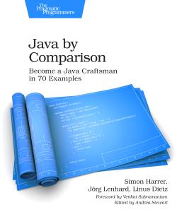 Cover image for Java by Comparison