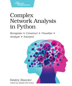Cover image for Complex Network Analysis in Python