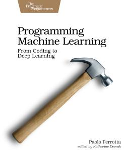 Cover image for Programming Machine Learning