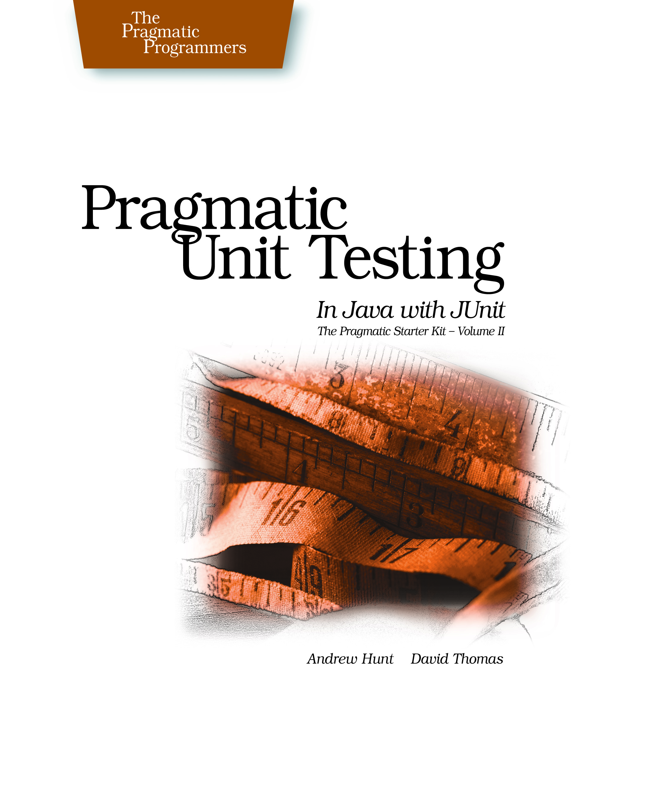 Cover Image For Pragmatic Unit Testing in Java with JUnit...