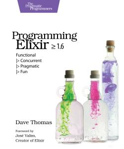 Cover image for Programming Elixir 1.6