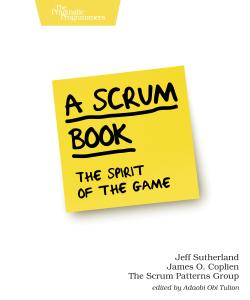 Cover image for A Scrum Book