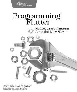 Cover image for Programming Flutter