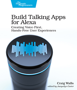 Cover image for Build Talking Apps for Alexa