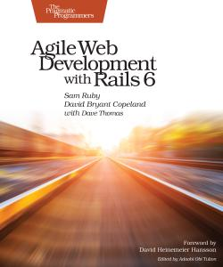 Cover image for Agile Web Development with Rails 6