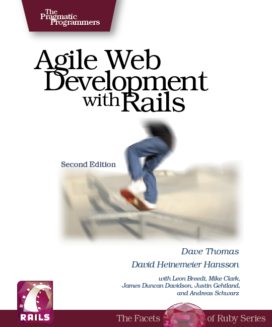 Cover image for Agile Web Development with Rails