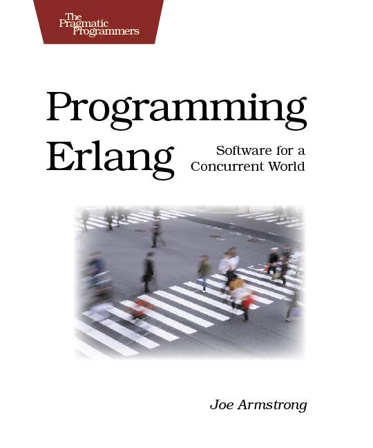 Cover Image For Programming Erlang...