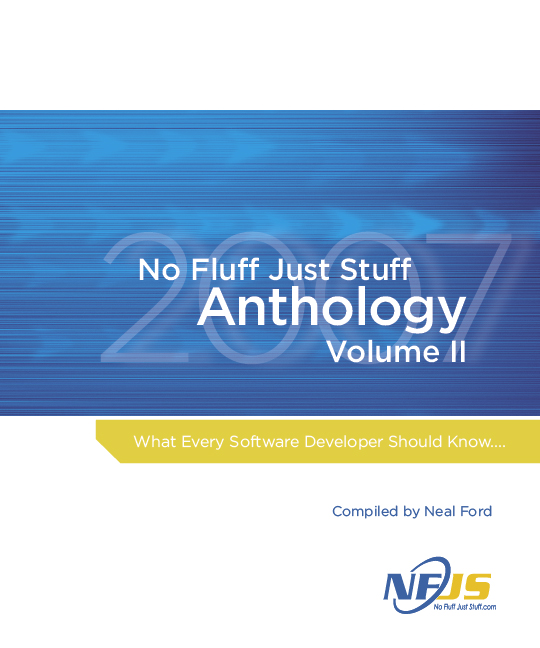 Cover image for No Fluff Just Stuff 2007 Anthology