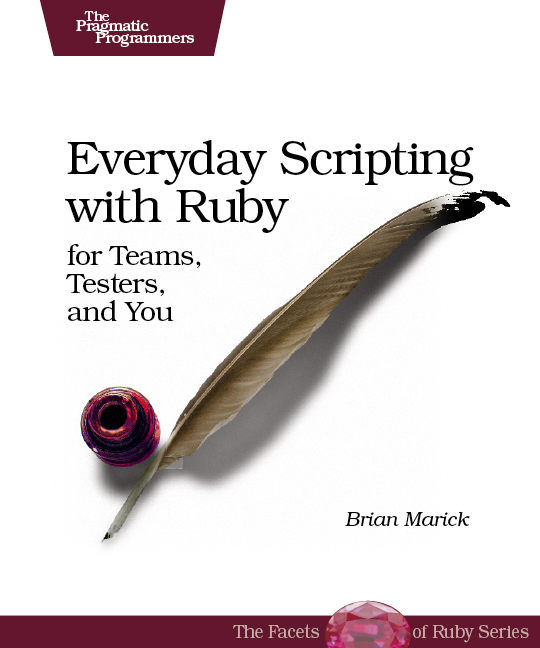 Cover image for Everyday Scripting with Ruby